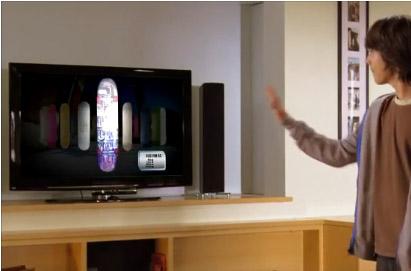 Intefaz gestual con Kinect