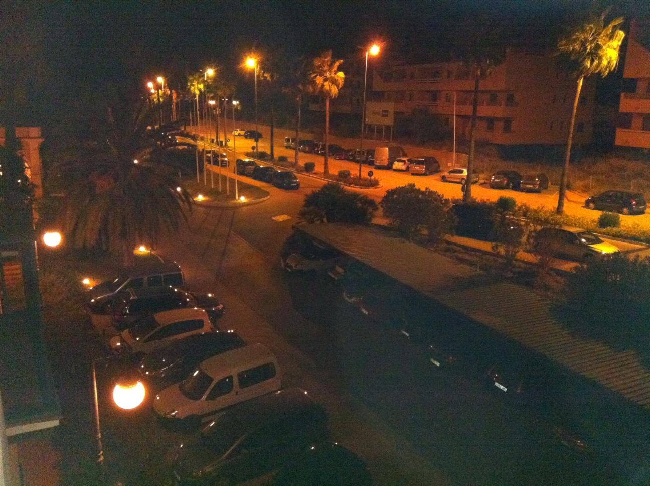 Viento y nubes en Jerez