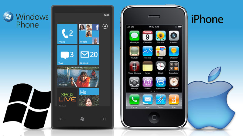 Windows Phone 7.5 vs iPhone 4S