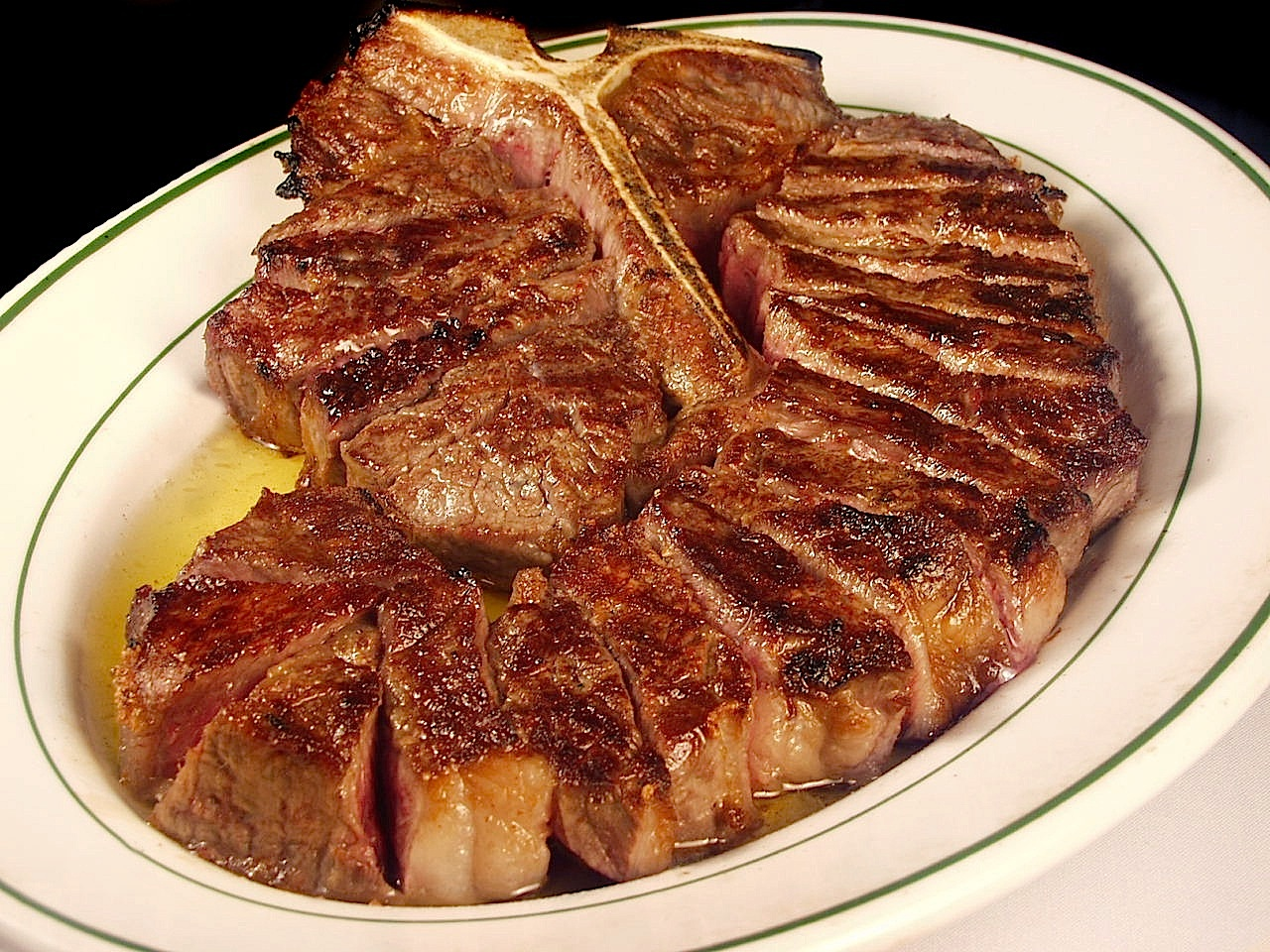Porterhouse de Benjamin's Steak House