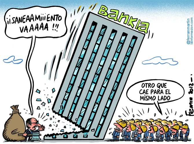 La verdad sobre el saneamiento de Bankia
