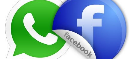 Logos de WhatsApp y Facebook