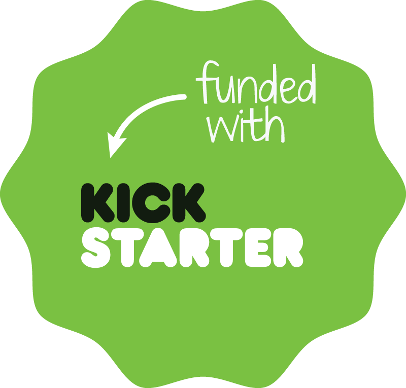 Logo Financiado por Kickstarter