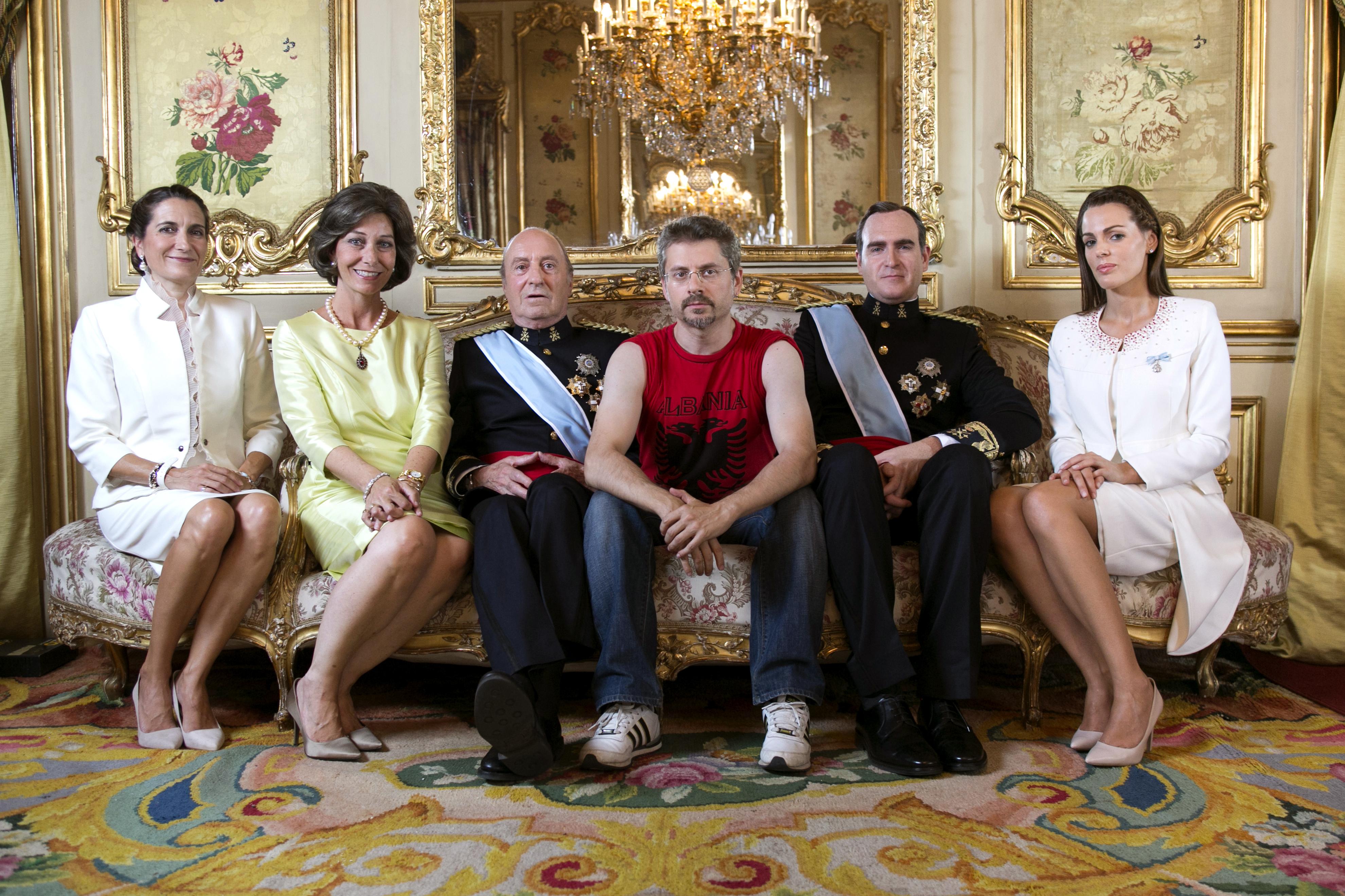 Bajo Ulloa con la Familia Real